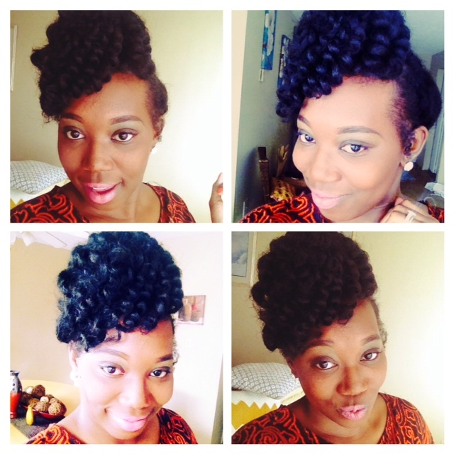 Crochet Braids Pin Up : New Protective Pin-Up Style with Crochet Braids Haute On A Mission ...