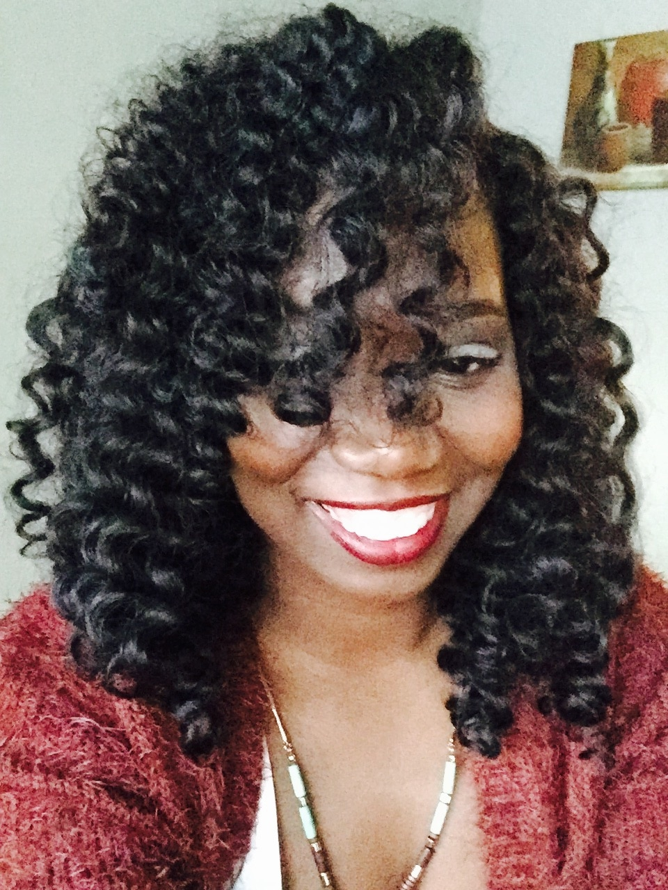 Various Crochet Hair Styles : on 1 Chat w/ me about my new install of crochet braids